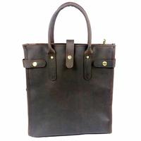 2014 briefcases laptop bag Portable Crazy Horse leather bags handbag for men