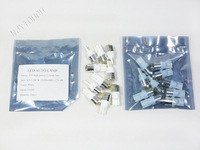 Free Shipping 10pcs T10 1.5W Quality LED Auto Interior Reverse Lamp Bulbs 12V Dome Light White