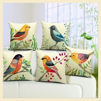 Scandinavian minimalist style garden fresh flowers and a small cushion pillow cushion YW8035