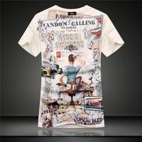GSYF0029 2014 summer new men's shirt 100% quality cotton short sleeve t-shirt causal menswear brand shirt slim shirt for men