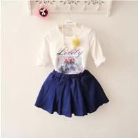 (5 pcs/lot)wholesale children's clothing wholesale girls fall paragraph bottoming shirt X8805/X600