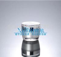 FWA  50G pearlescent  white acrylic cream JAR with flower shape lid ,cream jar,Cosmetic Jar,Cosmetic Packaging