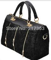 New 2014  fashion female bags fashion vintage lace bag shoulder bag women handbag women messengers bag ak090
