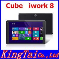New Arrival Cube iWork8 U80gt Intel Z3735E BayTrail-T Quad Core Windows 8.1 Tablet PC Dual Cameras Support Bluetooth GPS