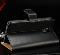 Vintage Genuine Leather Case For Samsung Galaxy S5 Mini G800 Wallet Style Phone Bag With Stand Card Holders 50 pcs/lot