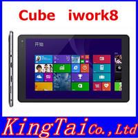 "8"" Cube U80GT iWork8 Tablet PC IPS HD 1280x800 Intel Z3735E Quad Core 1G+16G Multi Language Russian HDMI Bluetooth Tablets"