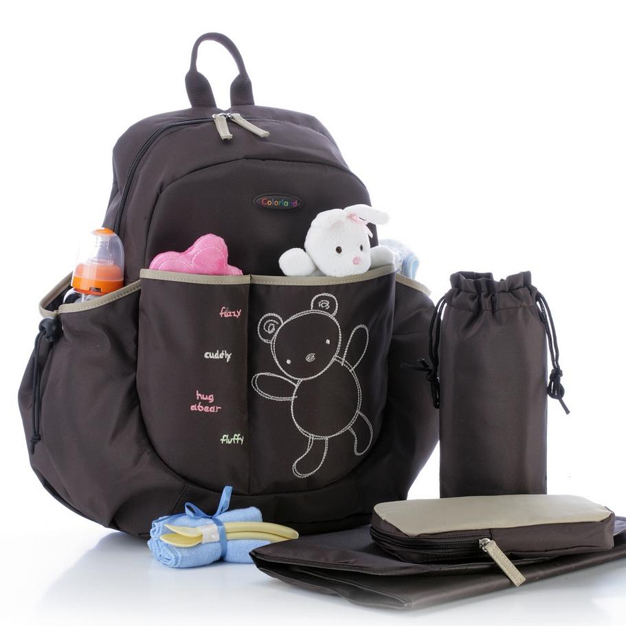 over the shoulder backpack diaper bag shoulder travel bag. Black Bedroom Furniture Sets. Home Design Ideas