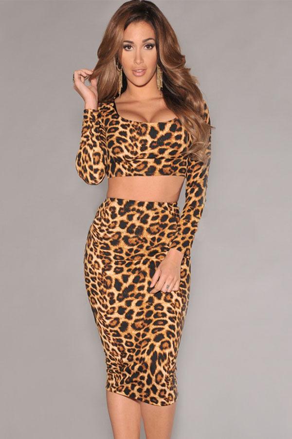 Женская юбка Dear-lover leopard skirt midi saia, LC6527 LC6527 Crop top Pencil Skirt Set женская юбка maxi skirt 6 saia longa g71 women skirt