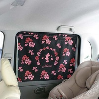 Hot Sale Free Shipping NAPOLEX 2Pcs Cartoon Minnie Car Curtain Side Sunshade Auto Window Sun UV Protection 050200001