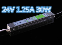 Free Shipping 24V Output  AC170V-250V Input 24V 1.25A 30W Waterproof LED Driver Power Supply Outdoor
