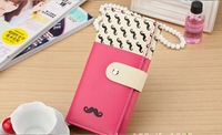 Fashion The new wallet lady's hand Grow a beard clasp wallet mobile phone packages Han edition women's wallet