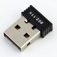wholesale 50Pcs 150Mbps 150M Mini USB WiFi Wireless Adapter Network LAN Card 802.11n/g/b free shipping