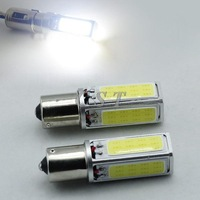 2pcs Super Bright 20W 1156 S25 Car COB LED Interior Fog Brake Parking Bulb Light Lamp side tail back up Reverse DRL