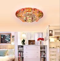 Lucky fish mini led crystal lamp chinese style lamp aisle corridor hallway balcony lamp ceiling light