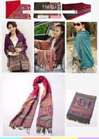 2014 High Quality Scarf Vintage Print Cotton Scarves Fashion  Women Pendant Scarfs Pashmina Scarf Cape Tippet Birthday  Gift