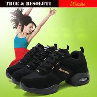 New Arrival Mezlito Dance Sneakers Shoes For Women Fashion Casual Girls Sports Shoes Platform Dancing Flats Modern Jazz Shoes
