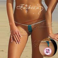 2015 Women triangle tanga extreme Hot Sexy mini Micro Bikini Swimwear G-String and Thong Undewear Lingerie Panties Briefs T-back