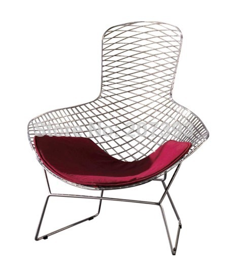 Steel leisure Chair/Diamond Chair/Steel chair--pls do contact the supplier for the better shipping fee before ordering(China (Mainland))