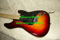 High Quality Newest Sunburst Stratocaster Electric Guitar Wholesale Guitars Free Shipping