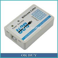 10 Pcs/Lot C8051F MCU Emulator U-EC6 USB Download Debugger JTAG/C2 Mode with Cable
