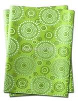 1set/lot, African Sego Headtie Gele & Ipele 2pcs in1bag, 1bag/lot, D/N 0075   Lemon Green