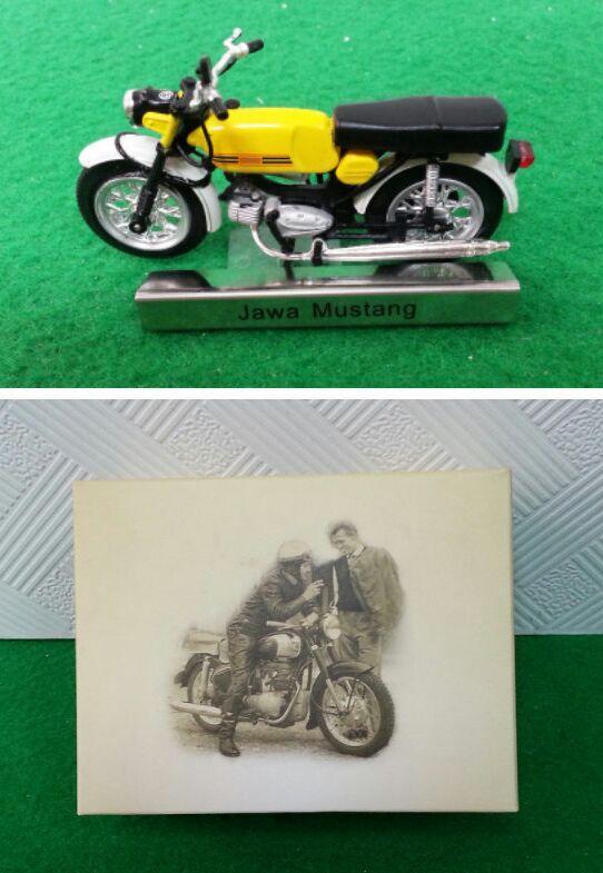 ATLAS Jawa Mustang mini-motorcycle model alloy spot(China (Mainland))