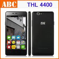 "Original THL 4400 5.0"" MTK6582 Quad Core 1GB RAM 4GB ROM Android 4.2 HD IPS 8MP Camera 4400mAh Battery OTG GPS Mobile Phone"