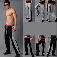 M-2XL 2014 Brand Men Pants New Couple Double Waist Patchwork Sport pants Korean Baggy Cargo Harem Overalls Casual Trousers AX764