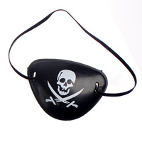 Free Shipping Halloween costume party props pirate party supplies pirates blindfold one eyed person patch