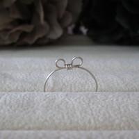 WINN 925 Sterling Silver Jewelry Handmade Love Cat Ears Finger Rings for Women Rings Weekend Deals Ring