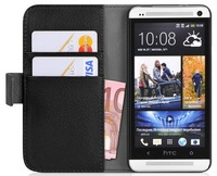 For HTC One M8 Case, 2014 New Mobile Phone Bag, Leather Case For HTC One M8, Luxury Wallet Stand with Credit card holders,1pcs