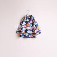 Sun fashion female child j - take an umbrella with a hood trench polar fleece fabric outerwear