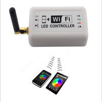 free shipping Wifi LED Controller+Romote control 2.4G 4-zone Wireless RF touch for rgb led strip light