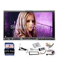 "Mortorized 7"" Digital TV DVB-T ISDB-T 2Din Car GPS(optional) DVD Player Stereo Radio  HD Digital TV SD USB iPod In Dash Media"