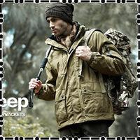 2014  Men's winter Jackets sports Jackets detachable climbing two-piece waterproof jacket coat bile