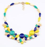 New fashion vintage handmade choker Necklaces & pendants statement necklace 2014 women jewelry