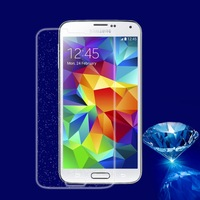 Glitter Diamond Screen Protector Film for Samsung Galaxy S5, 2pcs/set, with retail pacakge