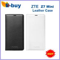 100%Original ZTE Nubia Z7 mini  Leather Case for Nubia Z7 Mini  Free shipping