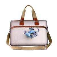 Women travel bag totes 2014 men duffle bags canvas large capcity Cute lizard print handbag luggage shoulder cross-body bags