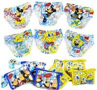 Wholesale 6pcs/lot boy and girl underwear,cartoon Kid's Underwear,cotton children underwear,grils panties,boy boxer short briefs