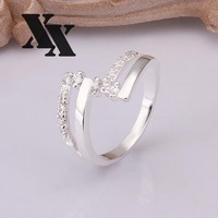 R265 925 Silver rings new design finger ring for lady