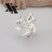 R263 925 Silver rings new design finger ring for lady
