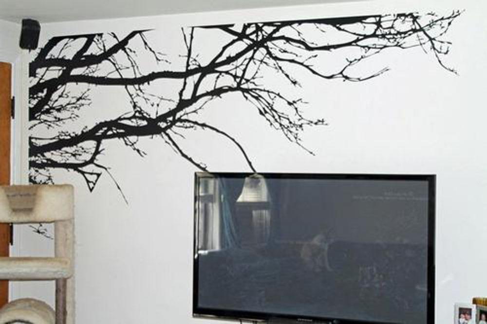 Black Tree Sticker For Wall Wall Stickers Black Tree