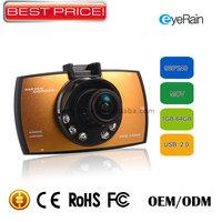 Wholesale Dvr/Camera Car Styling Highscreen Video Recorder hd 1080P Dashboard 120 Degree Angle Motion sensor,G-sensor.CDV1242A
