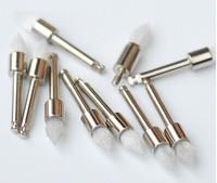Dental White nylon latch -type tip polishing brush