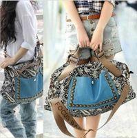 Girl Vintage Faux Leather Tote Shoulder Messenger Women Handbag Hobo Satchel Bag