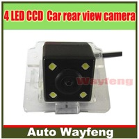 Factory selling Nightvision 4 LED CCD Special Car Rear View Reverse backup Camera rearview reversing for Mitsubishi Outlander