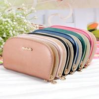 Carteira Feminina Bags Guangzhou Purse Bright Candy Colors Women Semicircular Arc Single Pull Wallet Wholesale Bulk Bills Bits