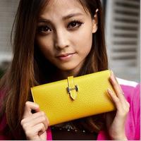2014 Sale Carteira Feminina Purse Women Ms. Clutch Woman Stall Selling Factory Direct Wholesale Yiwu H Buckle Female Bag Fujiki