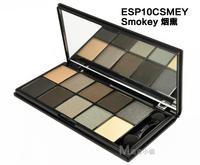 ten -color eye shadow 10 color eyeshadow smoky ultra chromogenic